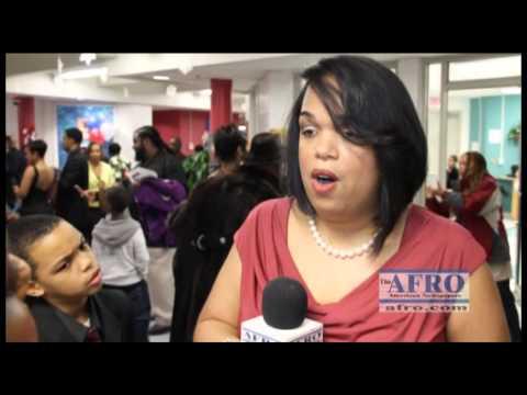 AFRO Coverage - Perrywood Elementary School (Inaugural Ball) Amanda Stewart