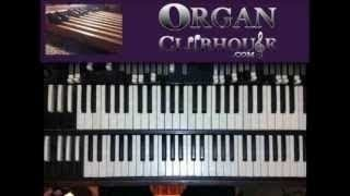 "♫ How to play ""LET IT RAIN"" by Bishop Paul S. Morton (gospel organ tutorial)"