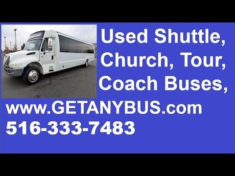 Krystal 30 Passenger Bus For Sale | 2009 International Krystal KK38 3200 Maxforce Coach Shuttle Bus
