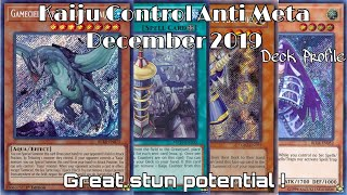 YU-GI-OH! KAIJU ANTI META DECEMBER 2019 DECK PROFILE [YGO PRO]