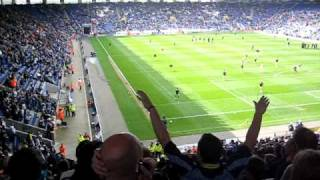 Leicester vs Leeds, 13th April 2009 - Marching On Together