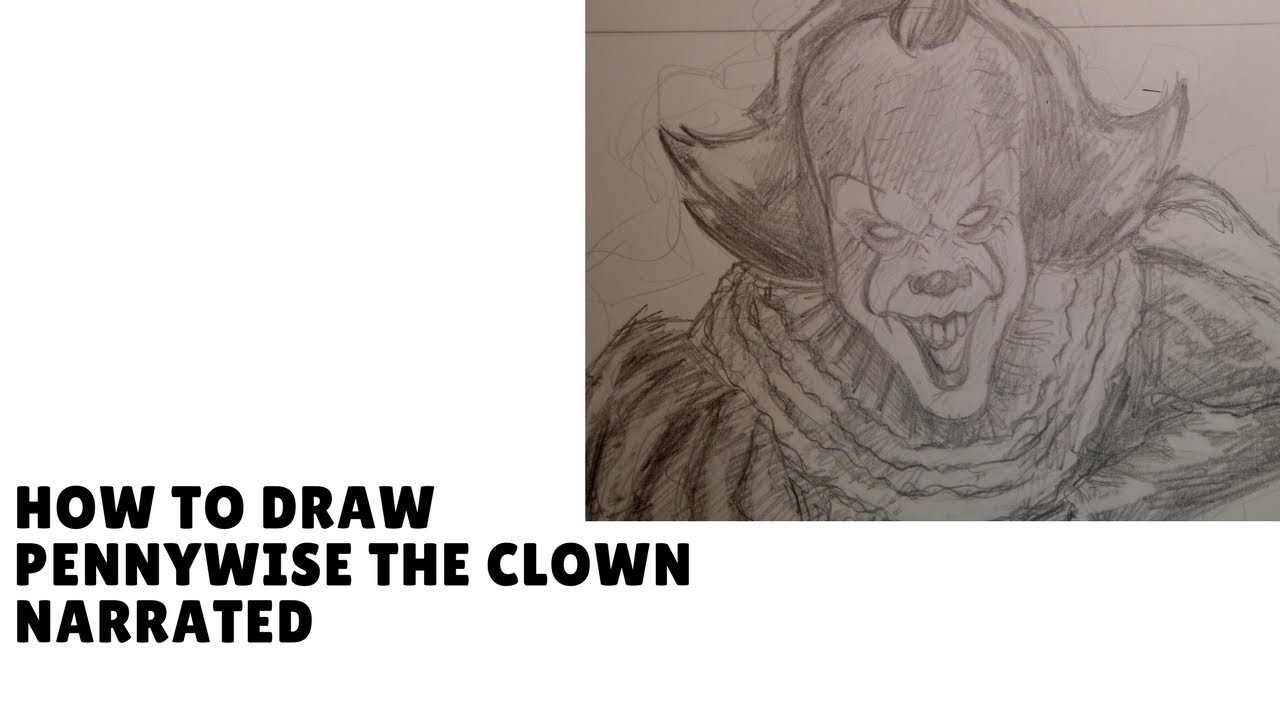 How To Draw Pennywise The Clown