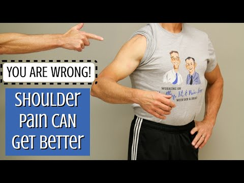 You Are Wrong! Your Shoulder Arthritis Pain Can Get Better! See How.
