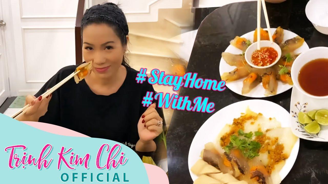 #StayHome làm Bánh Nậm và Bánh Bột Lọc cực kỳ ngon #WithMe   Trịnh Kim Chi Vlog