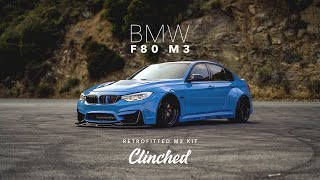 homepage tile video photo for World's First Clinched BMW F80 M3 | CLINCHED Flares
