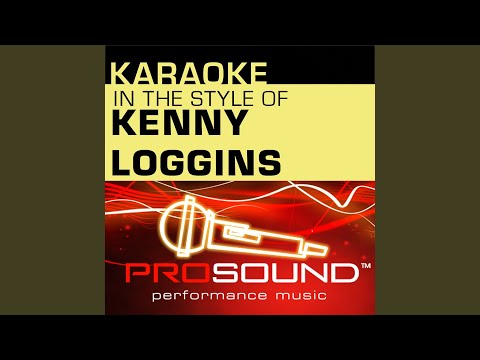 Your Heart Will Lead You Home (Karaoke Instrumental Track) (In the style of Kenny Loggins) mp3