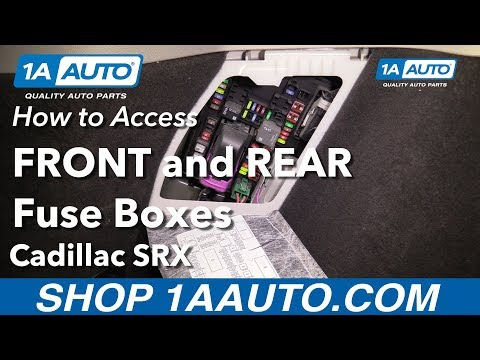 2004 srx fuse box how to access fuse boxes 10 16 cadillac srx youtube  fuse boxes 10 16 cadillac srx