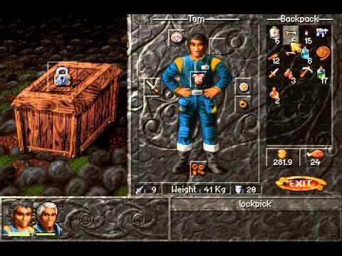Albion (PC MS-DOS) Walkthrough Part 3 Jirinaar, capital of Nakiridaani