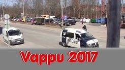 Vappukulkue 2017, Vappujuhlaa, Vappu aaton sää, Forssa