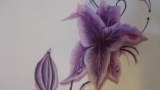Как рисовать на ткани(Рисование по ткани практически не отличается от рисования на бумаге\дереве, единственная трудность - это..., 2013-06-23T09:35:17.000Z)