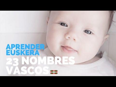 Aprender euskera: 23 nombres vascos