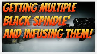 Destiny - Getting Multiple Black Spindle