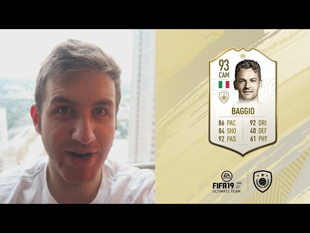 1ST OFFICIAL FIFA 19 ICON!!!