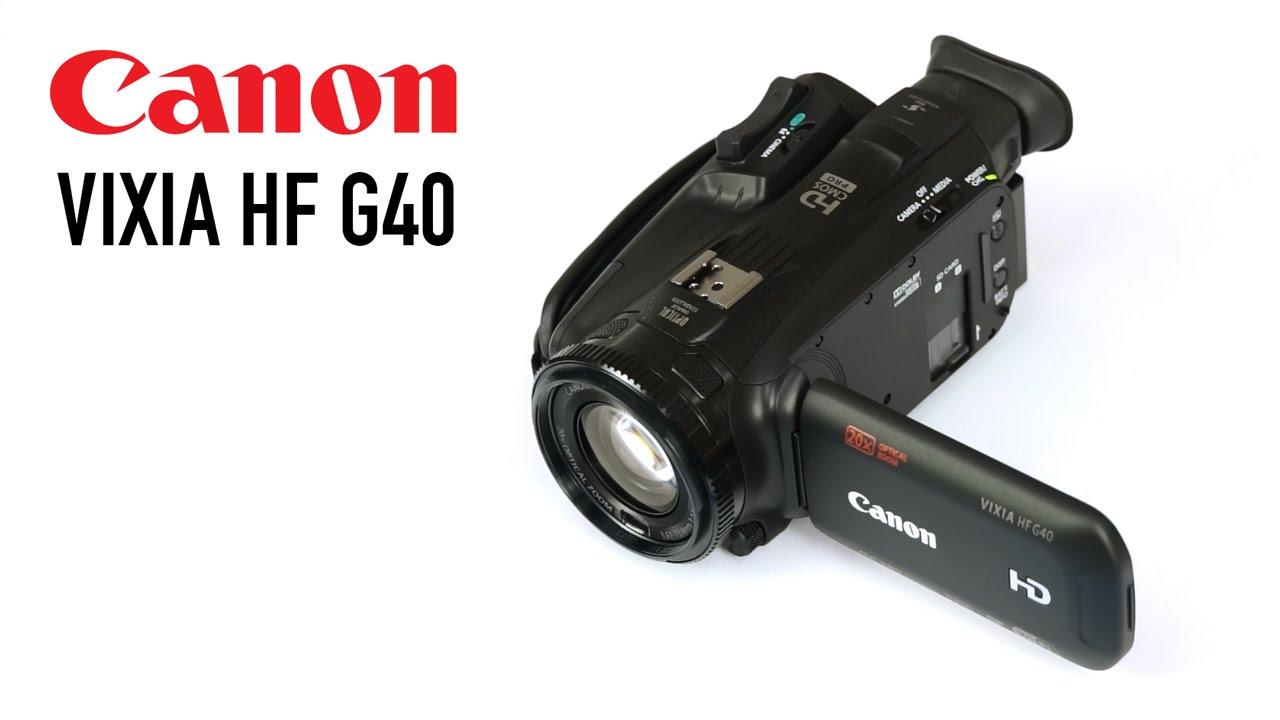 Canon Legria Hf G40 User Manual