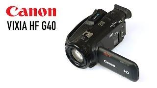 Cameta Camera SNAPSHOTS - Canon VIXIA HF G40 Camcorder