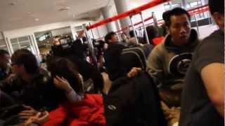 Japan earthquake March 2011 - Narita Airport