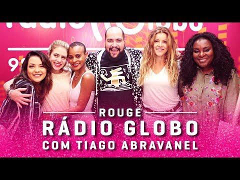 Rouge na Rádio Globo - Papo de Almoço com Tiago Abravanel