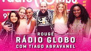Rouge na Rádio Globo - Papo de Almoço com Tiago Abravanel Video