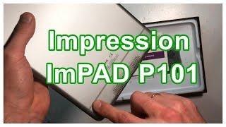 Розпакування та огляд планшета Impression ImPAD P101