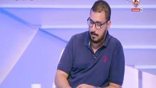 إسلام حافظ : أمير مرتضى منصور يبذل مجهود غير عادي ويمتلك فكر محترف - أخبارنا