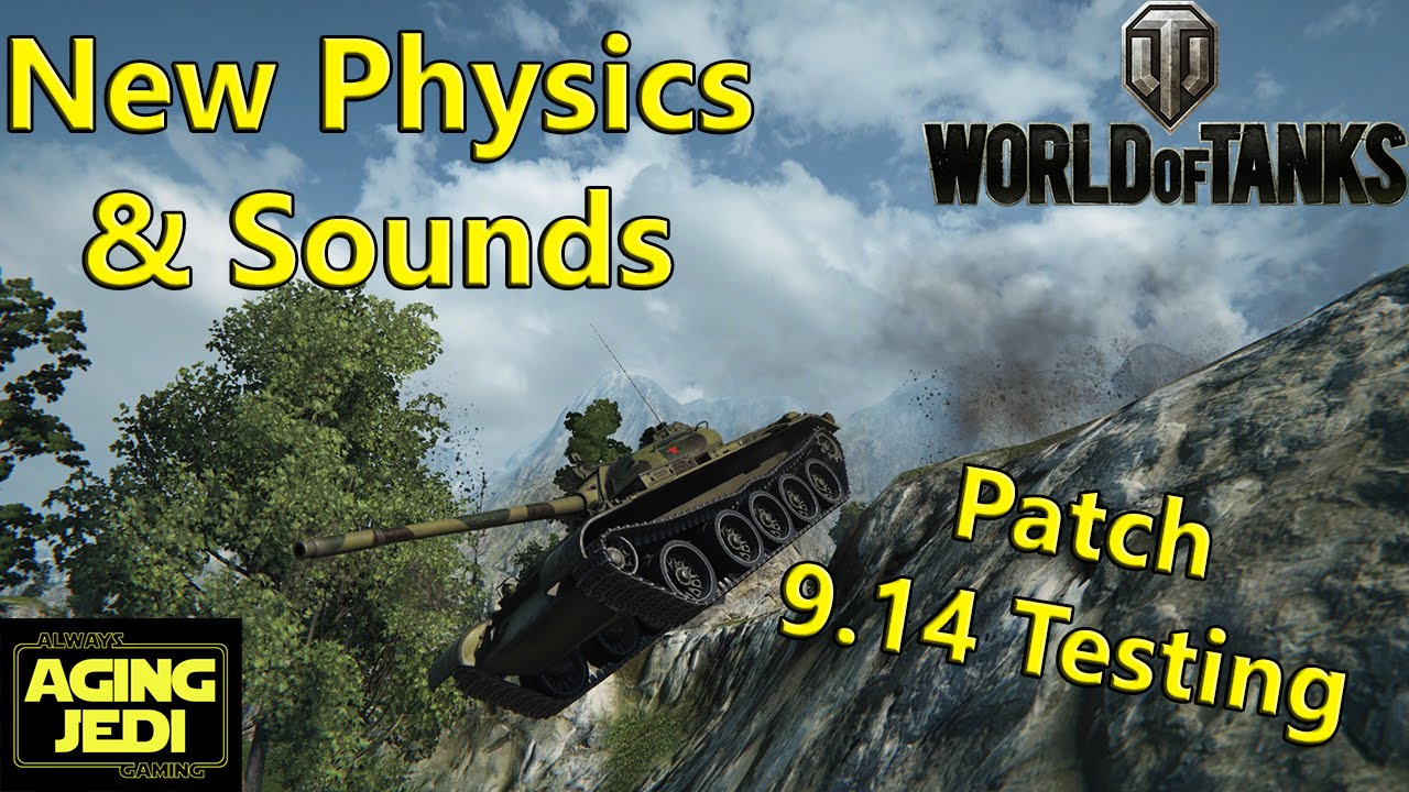 World of tanks how to install the 0. 8 physics patch youtube.