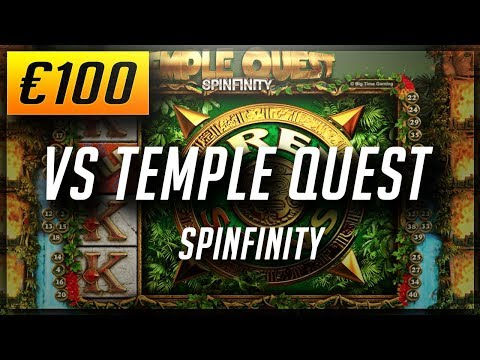 Online Casino Slots: €100 VS TEMPLE QUEST SLOT - BGT - Easy money! (2018)