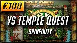 Online Casino Slots: €100 VS TEMPLE QUEST SLOT - BGT - Easy money! (2018)