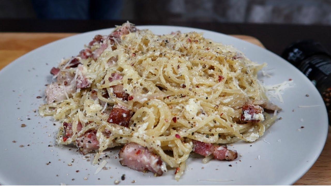 Рецепт ПАСТА КАРБОНАРА | Как приготовить Spaghetti Carbonara