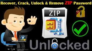 How to Crack, Remove, Unlock, Recover Zip file Password with Proof 100% working in Hindi
