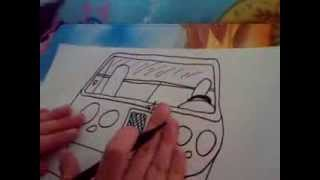 HOW TO DRAW A BENTLEY CAR