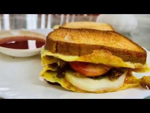 Bread chicken Sandwich |2mint Sandwich | Easy Recipe - YouTube