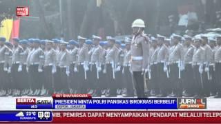 Jokowi Hadiri Ulang Tahun Bhayangkara ke-69