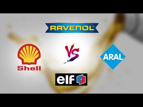 Elf Vs Aral Vs Shell Vs Ravenol