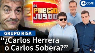 """Carlos Sobera, con el Grupo Risa, desvela las novedades del regreso de EL PRECIO JUSTO: """"¡A jugar!"""""""