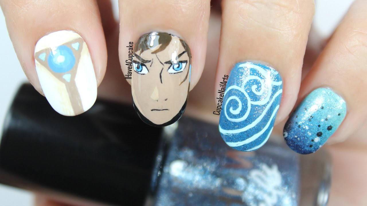 Legend Of Korra Nail Art