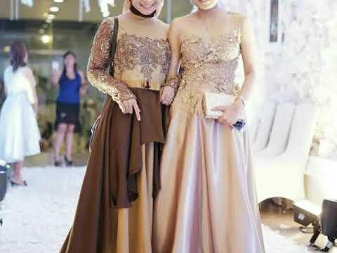 Gaun Kebaya Simpel Terbaru 2018