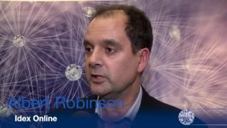 Antwerp Diamond Trade Fair interview of Alber Robinson