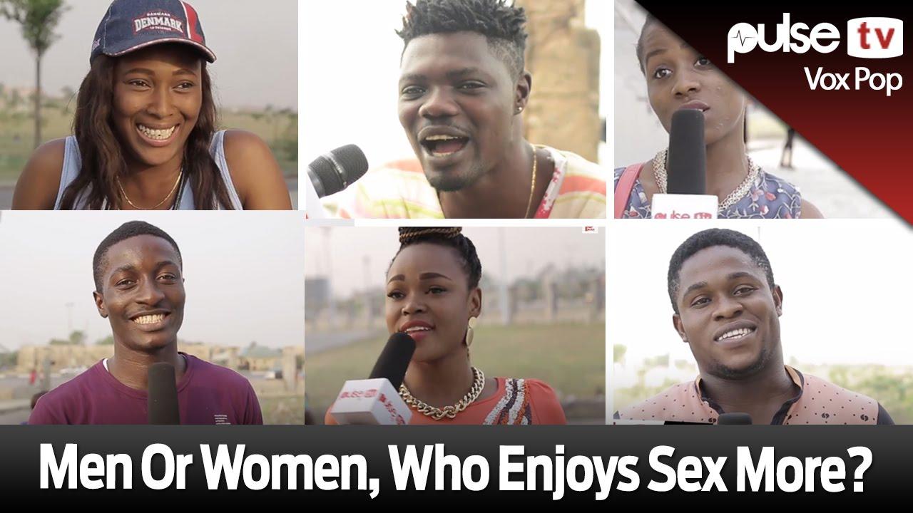 Men Or Women Who Enjoys Sex More Pulse Tv Vox Pop Youtube