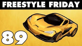 CYCLONE - Freestyle Friday 89 - Rocket League - JHZER
