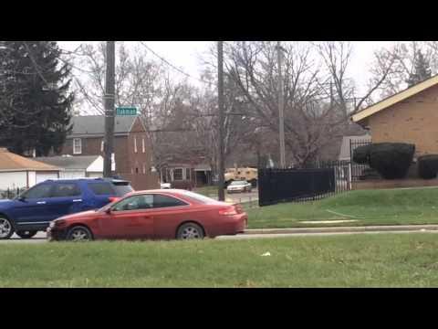 FBI standoff in Detroit - 12/4/15