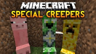 Minecraft: Creeper Species Mod! -  Angels, Devils and a Raw Chicken