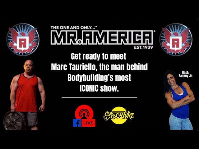 """""""Subculture"""" interviews Mr. America Promoter Marc Tauriello on YouTube!"""