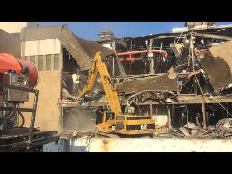 White Flint Mall demolition