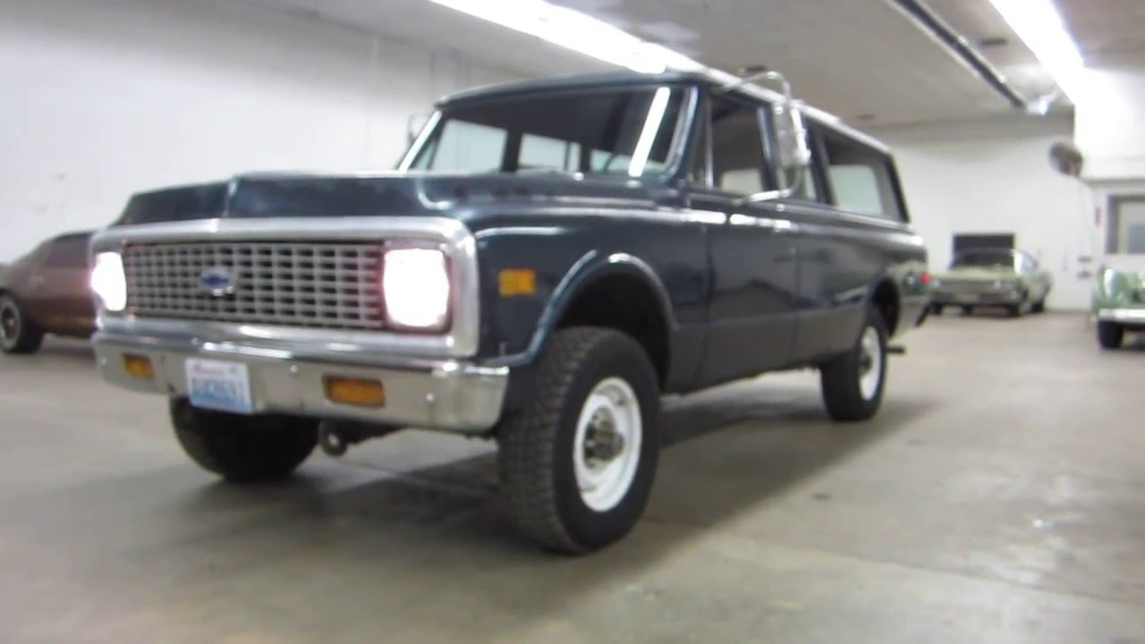 Super Solid 1972 3 4 Ton Chevy Suburban 4x4