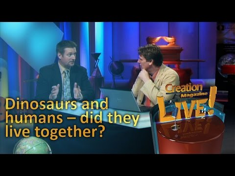 Dinosaurs and humans -- did they live together? -- Creation Magazine LIVE! (2-09) by CMI Video