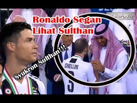 Ronaldo Membawa Juventus Juara Supercoppa di Jeddah, Saudi Arabia Lihat Ekspresinya !