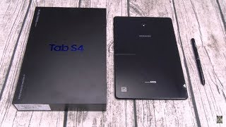 Samsung Galaxy Tab S4 - Unboxing and First Impressions