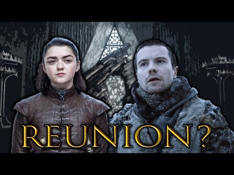 The Reunion Of Arya & Gendry! Game of Thrones SEASON 8
