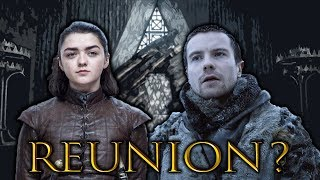 The Reunion Of Arya & Gendry! (Game of Thrones) SEASON 8