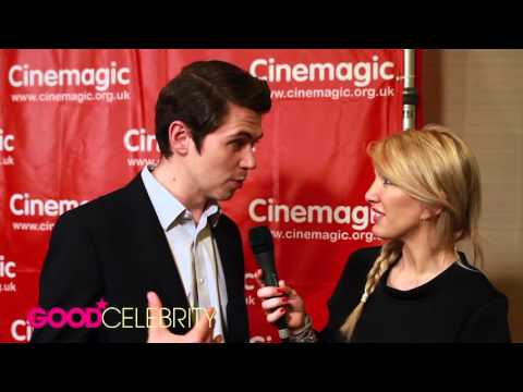 Good Celebrity Interviews Damian McGinty at Cinemagic Showcase